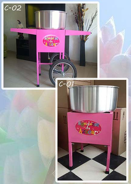 Máquina para hacer algodón de azúcar uso profesional